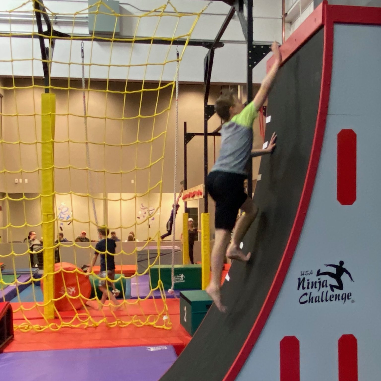 ninja class grand junction warped wall